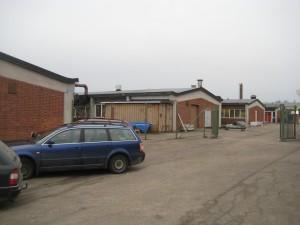 Ansicht der zweiten Gebäudehälfte